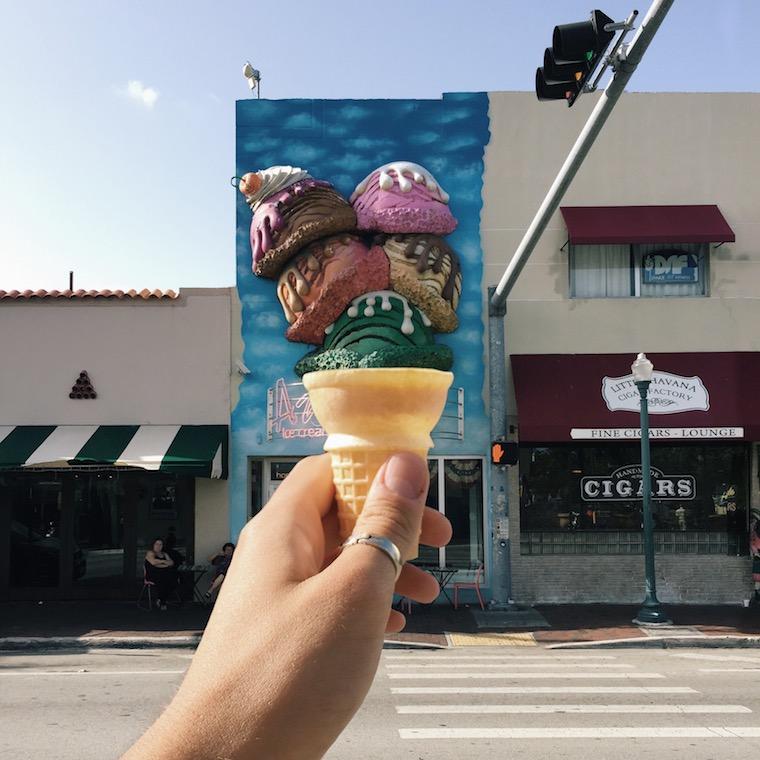 Creative ice cream shot Foap