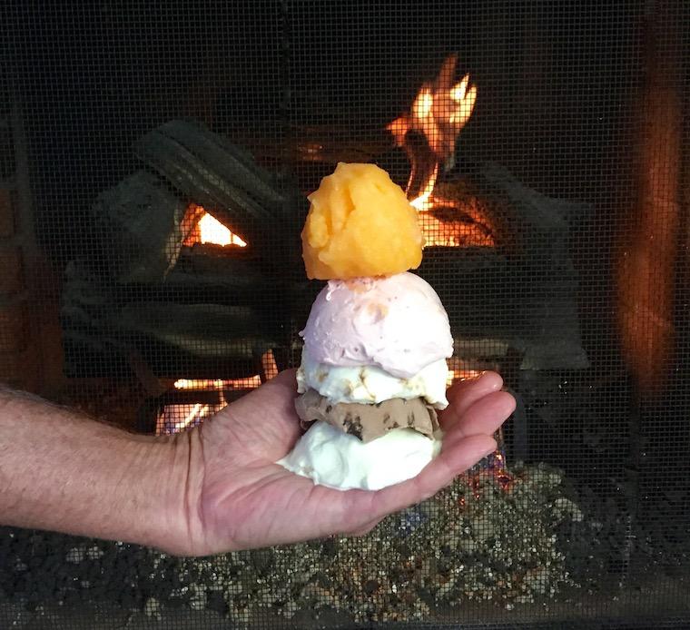 Melting Ice cream Foap