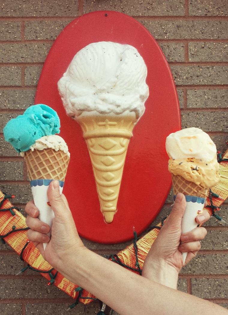 Ice cream Team work