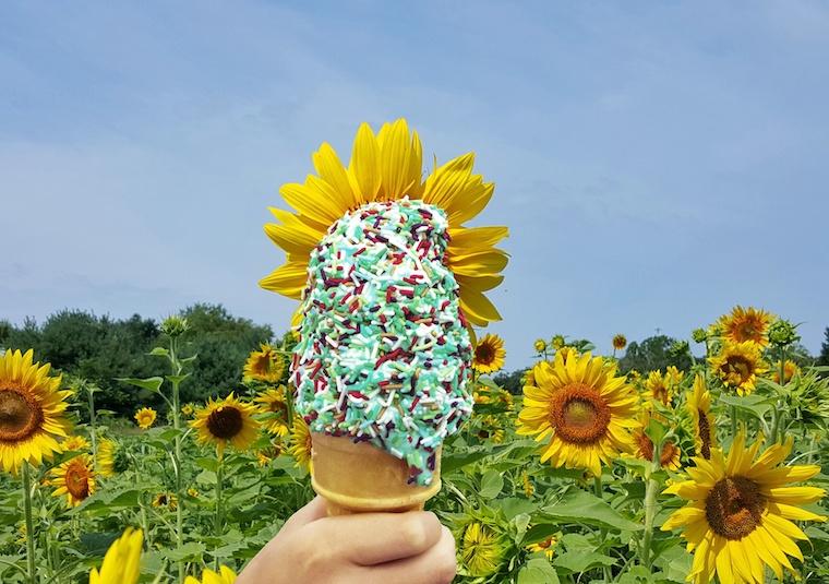 Creative ice cream Foap shot