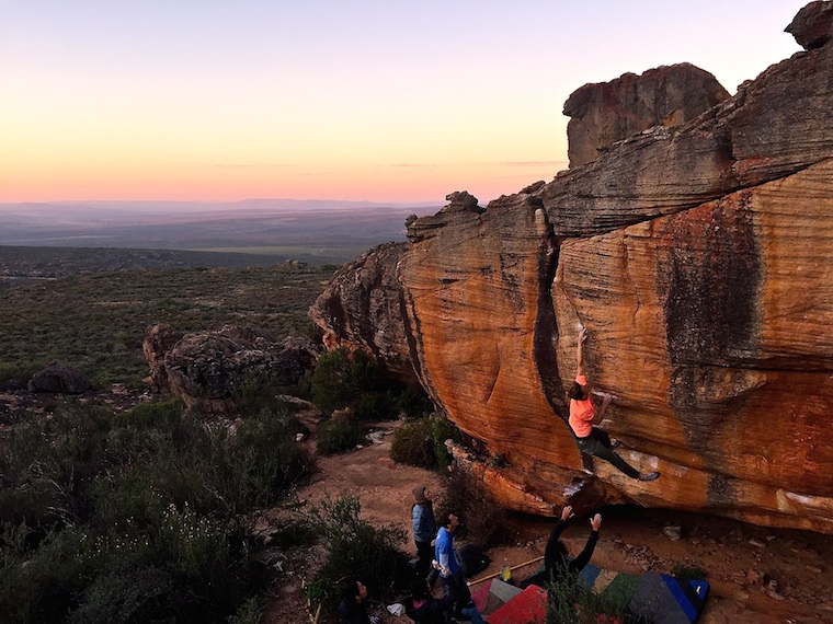 Foap-Sunset_climbing_session