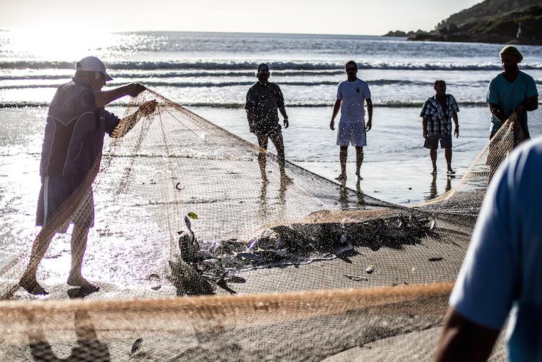 Fishermen in Brazil