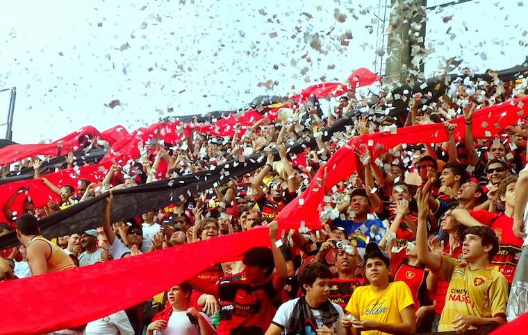 Football fans Brazil