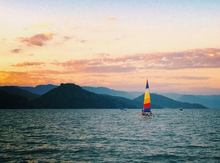 Sailboat in Brazil