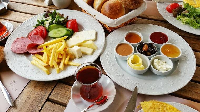 Breakfast in Turkey